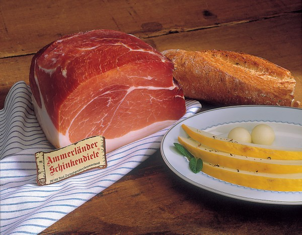 """Kaiserschinken"" - Luftgetrockneter Knochenschinken, 250 g - Servierschnitt"