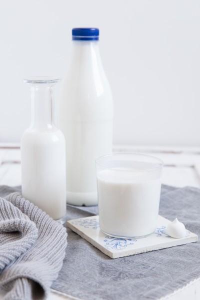 Frische Büffel-Milch