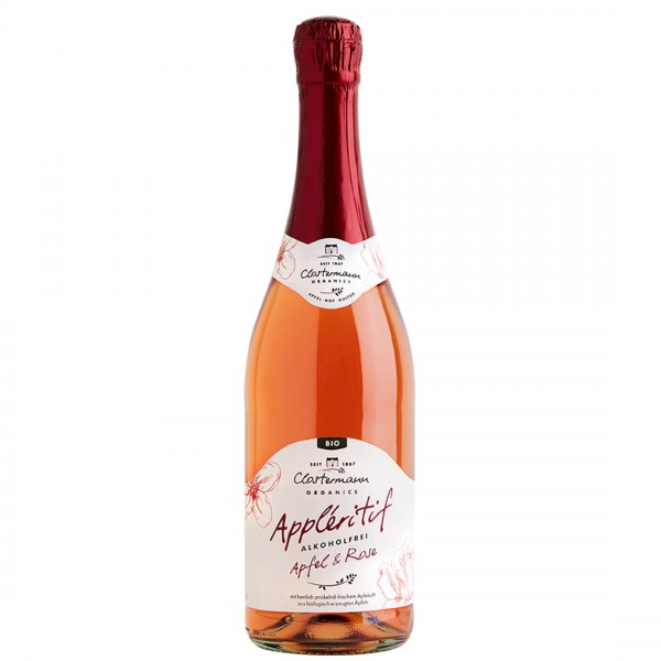Appléritif Apfel & Rose, alkoholfrei