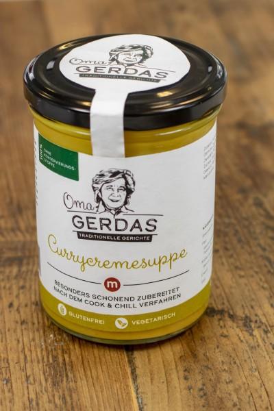 Gerdas Currycremesuppe