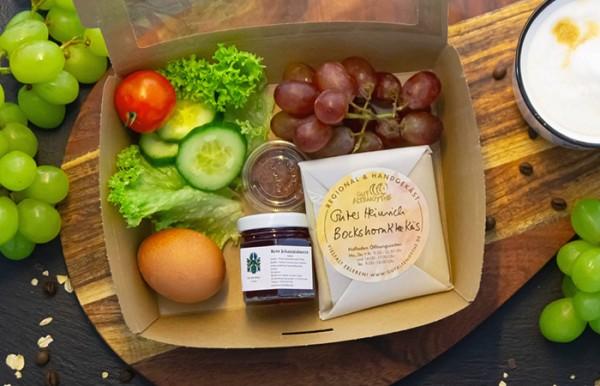 Frühstücksbox in 2 Varianten