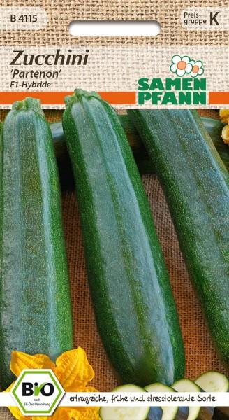 """Bio-Zucchini """"Partenon"""" – F1-Hybride"""
