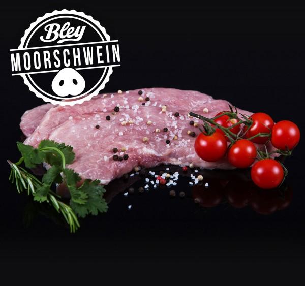 Moorschwein Schnitzel, 2 Scheiben
